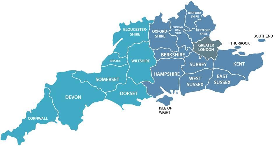 SCF Consult map